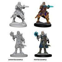 PATHFINDER: DEEP CUTS UNPAINTED MINIATURES - MALE HUMAN WIZARD