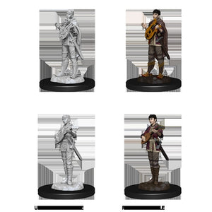 DUNGEONS AND DRAGONS: NOLZUR'S MARVELOUS UNPAINTED MINIATURES - FEMALE HALF-ELF BARD
