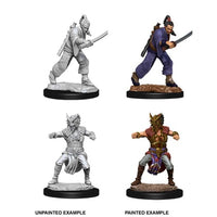 DUNGEONS AND DRAGONS: NOLZUR'S MARVELOUS UNPAINTED MINIATURES - MALE HUMAN MONK