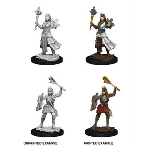 DUNGEONS AND DRAGONS: NOLZUR'S MARVELOUS UNPAINTED MINIATURES - FEMALE HUMAN CLERIC