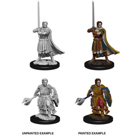 DUNGEONS AND DRAGONS: NOLZUR'S MARVELOUS UNPAINTED MINIATURES - MALE HUMAN CLERIC