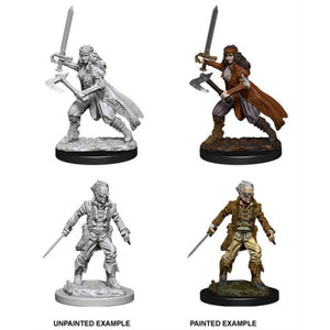 DUNGEONS AND DRAGONS: NOLZUR'S MARVELOUS UNPAINTED MINIATURES - VAMPIRE HUNTERS