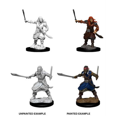 DUNGEONS AND DRAGONS: NOLZUR'S MARVELOUS UNPAINTED MINIATURES - BANDITS