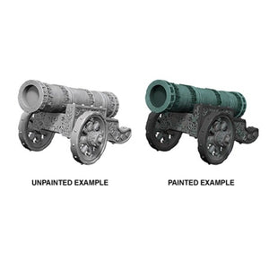 DEEP CUTS UNPAINTED MINIATURES - LARGE CANNON