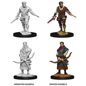 DUNGEONS AND DRAGONS: NOLZUR'S MARVELOUS UNPAINTED MINIATURES - MALE HUMAN ROGUE