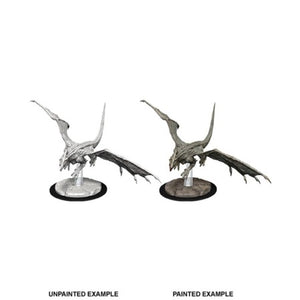 DUNGEONS AND DRAGONS: NOLZUR'S MARVELOUS UNPAINTED MINIATURES - YOUNG WHITE DRAGON