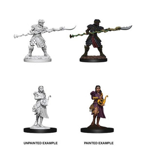 DUNGEONS AND DRAGONS: NOLZUR'S MARVELOUS UNPAINTED MINIATURES - YUAN-TI PUREBLOODS
