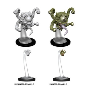 DUNGEONS AND DRAGONS: NOLZUR'S MARVELOUS UNPAINTED MINIATURES - SPECTATOR AND GAZERS