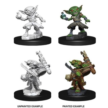PATHFINDER: DEEP CUTS UNPAINTED MINIATURES - MALE GOBLIN ALCHEMIST
