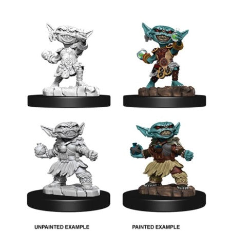 PATHFINDER: DEEP CUTS UNPAINTED MINIATURES - FEMALE GOBLIN ALCHEMIST