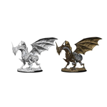 PATHFINDER: DEEP CUTS UNPAINTED MINIATURES - CLOCKWORK DRAGON