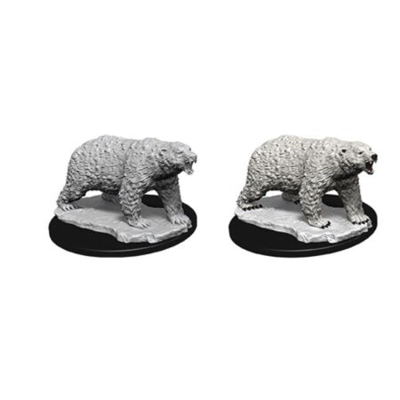 DEEP CUTS UNPAINTED MINIATURES - POLAR BEAR