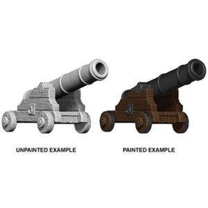 DEEP CUTS UNPAINTED MINIATURES - CANNONS