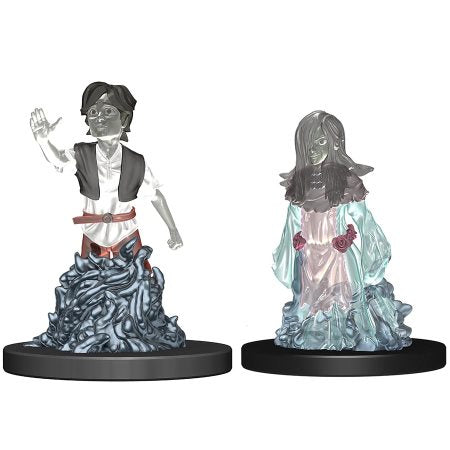WARDLINGS: PRE-PAINTED MINIATURES - WAVE 3 - FEMALE AND MALE GHOSTS