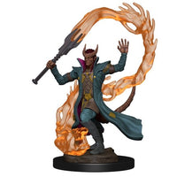 DUNGEONS AND DRAGONS: ICONS OF THE REALM PREMIUM FIGURE - MALE TIEFLING SORCERER