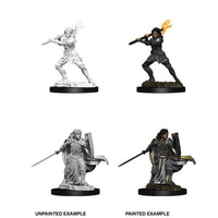 DUNGEONS AND DRAGONS: NOLZUR'S MARVELOUS UNPAINTED MINIATURES - FEMALE HUMAN PALADIN