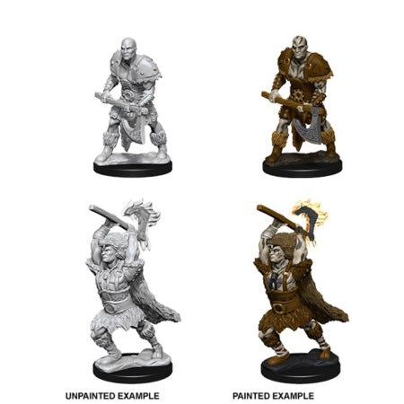 DUNGEONS AND DRAGONS: NOLZUR'S MARVELOUS UNPAINTED MINIATURES - MALE GOLIATH BARBARIAN