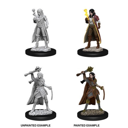 DUNGEONS AND DRAGONS: NOLZUR'S MARVELOUS UNPAINTED MINIATURES - FEMALE ELF CLERIC