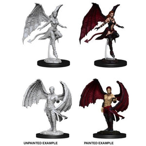 DUNGEONS AND DRAGONS: NOLZUR'S MARVELOUS UNPAINTED MINIATURES - SUCCUBUS AND INCUBUS