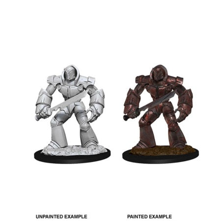 DUNGEONS AND DRAGONS: NOLZUR'S MARVELOUS UNPAINTED MINIATURES - IRON GOLEM
