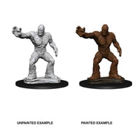 DUNGEONS AND DRAGONS: NOLZUR'S MARVELOUS UNPAINTED MINIATURES - CLAY GOLEM