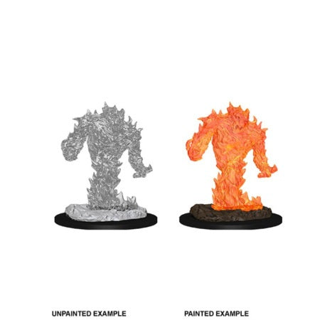 DUNGEONS AND DRAGONS: NOLZUR'S MARVELOUS UNPAINTED MINIATURES - FIRE ELEMENTAL