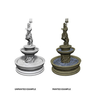 DEEP CUTS UNPAINTED MINIATURES - FOUNTAIN