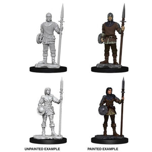 DEEP CUTS UNPAINTED MINIATURES - GUARDS