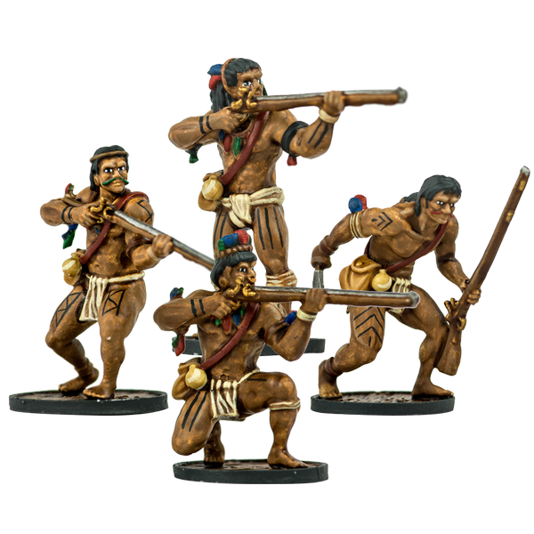Blood & Plunder - WARRIOR MUSKETEERS UNIT