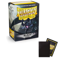 Dragon Shield Sleeves: Standard- Classic Black (100 ct.)