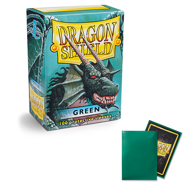 Dragon Shield Sleeves: Standard- Classic Green (100 ct.)