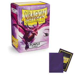 Dragon Shield Sleeves: Standard- Classic Purple (100 ct.)