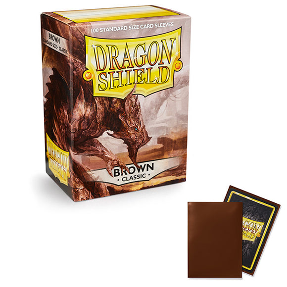 Dragon Shield Sleeves: Standard- Classic Brown (100 ct.)