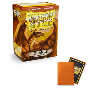 Dragon Shield Sleeves: Standard- Classic Orange (100 ct.)