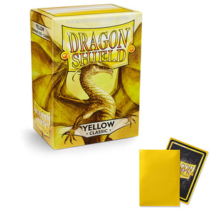 Dragon Shield Sleeves: Standard- Classic Yellow (100 ct.)