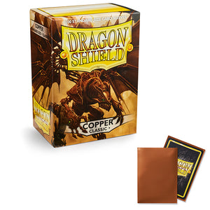 Dragon Shield Sleeves: Standard- Classic Copper (100 ct.)