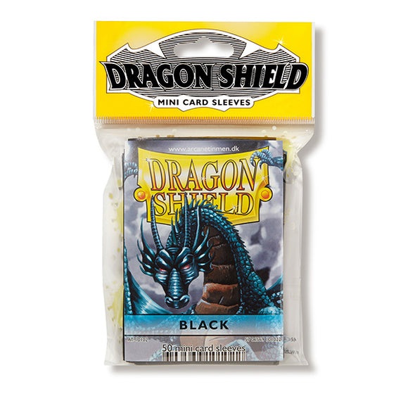 Dragon Shield Sleeves: Japanese- Classic Black (50 ct.)