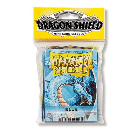 Dragon Shield Sleeves: Japanese- Classic Blue (50 ct.)