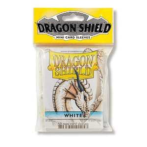 Dragon Shield Sleeves: Japanese- Classic White (50 ct.)