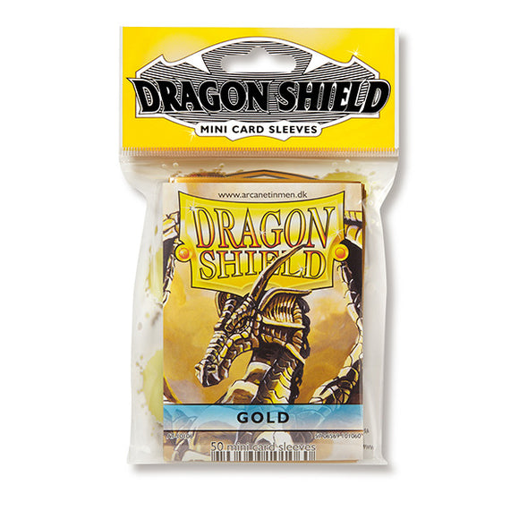 Dragon Shield Sleeves: Japanese- Classic Gold (50 ct.)