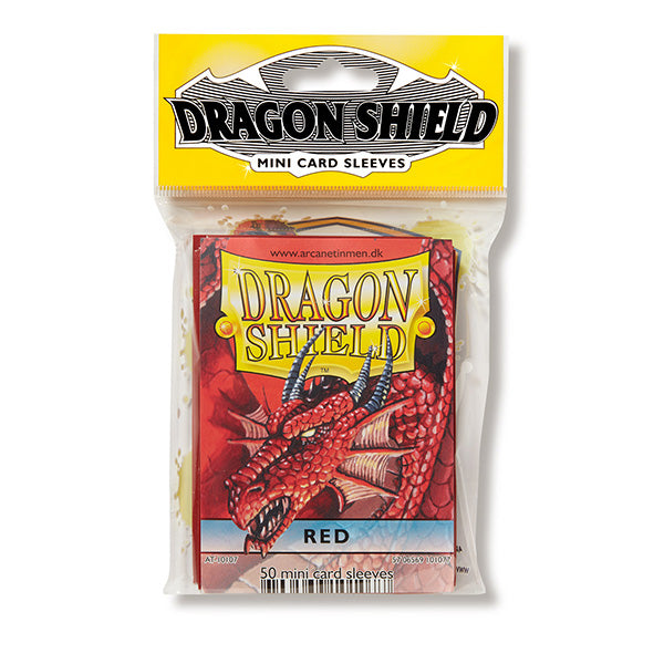 Dragon Shield Sleeves: Japanese- Classic Red (50 ct.)
