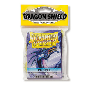 Dragon Shield Sleeves: Japanese- Classic Purple (50 ct.)