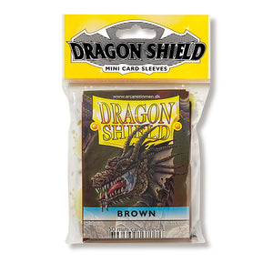 Dragon Shield Sleeves: Japanese- Classic Brown (50 ct.)