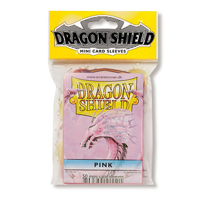 Dragon Shield Sleeves: Japanese- Classic Pink (50 ct.)