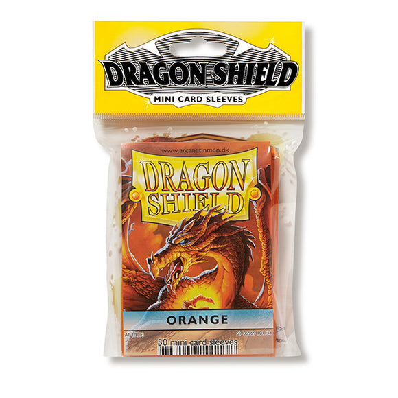 Dragon Shield Sleeves: Japanese- Classic Orange (50 ct.)