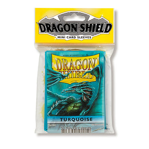 Dragon Shield Sleeves: Japanese- Classic Turquoise (50 ct.)
