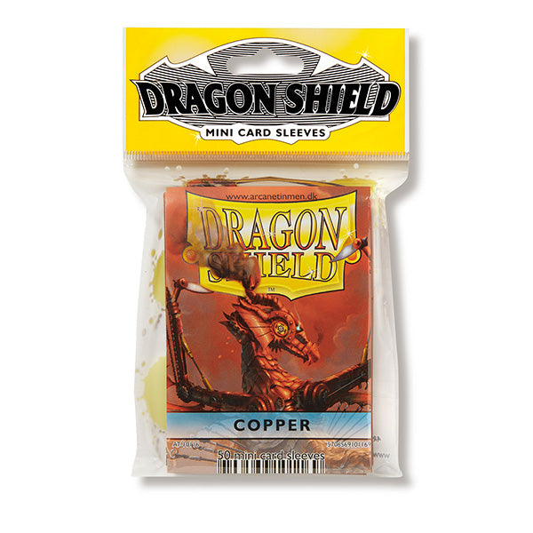 Dragon Shield Sleeves: Japanese- Classic Copper (50 ct.)