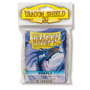 Dragon Shield Sleeves: Standard- Classic Purple (50 ct.)