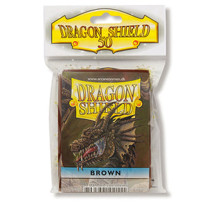 Dragon Shield Sleeves: Standard- Classic Brown (50 ct.)