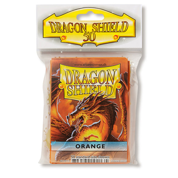 Dragon Shield Sleeves: Standard- Classic Orange (50 ct.)
